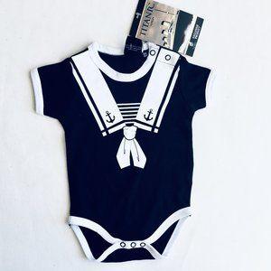 Titanic Little Sailor Onesie